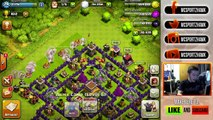 """""""THE INVINCIBLE WARRIOR"""" - PEKKA & HEALERS ONLY RAID!   Clash of Clans - Crazy Raids (#3)"""