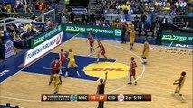 Highlights: Maccabi Electra Tel Aviv-Cedevita Zagreb