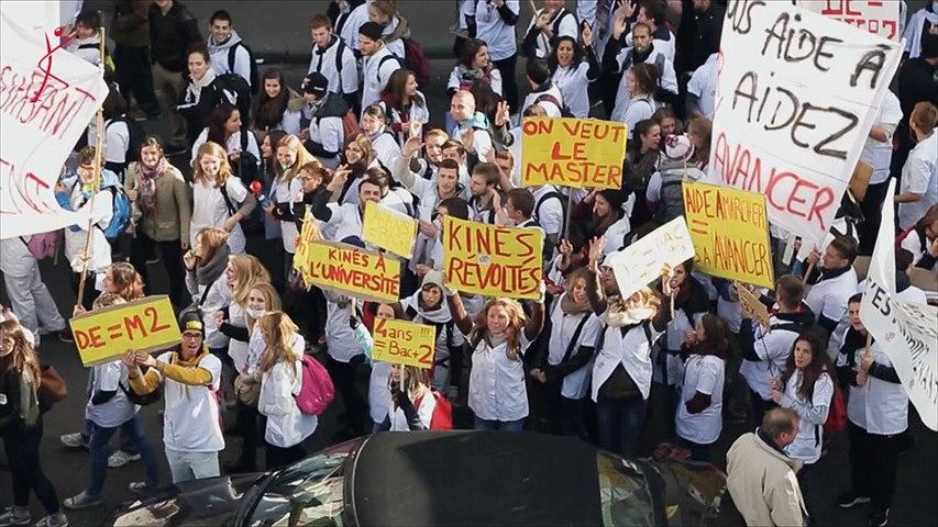 Le film de la mobilisation historique des étudiants - 05 Novembre 2014