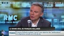 """Brunet & Neumann : """"François Hollande a succombé à la pression médiatique """" - 07/11"""