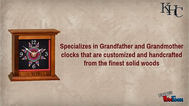 Buy grandfather clocks at Kauffmans Handcrafted Clocks