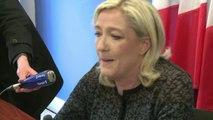 Marine Le Pen réagit à la prestation de François Hollande
