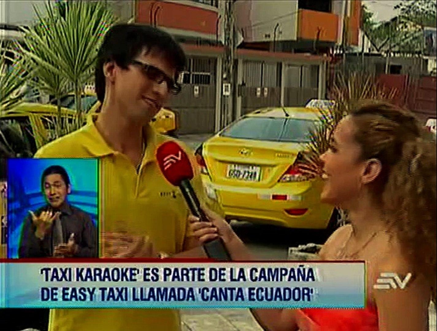'Karaoke Taxi' es parte de la campaña de Easy Taxi llamada 'Canta Ecuador'
