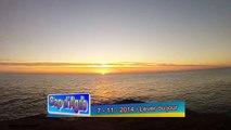 Levé de soleil sur la mer 1
