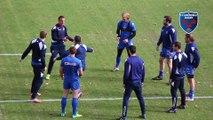 Mise en place dans la bonne humeur au Stade des Alpes avant le derby face au LOU