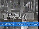 """Mireille Mathieu - """" Quand tu t'en iras """" (Non pensare a me)   ITALIE  NB"""