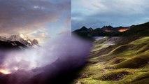 """Exposition photos Pascal Bachelet """"Tour du Mont-Blanc Paysages"""" Saint-Gervais Hautetour"""