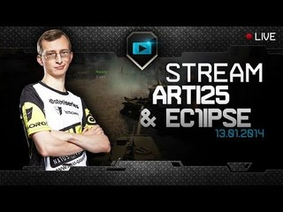 Arti25 & Ec1ipse artillery stream