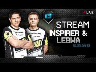Stream VOD - Inspirer & LeBwa - 12/9/13