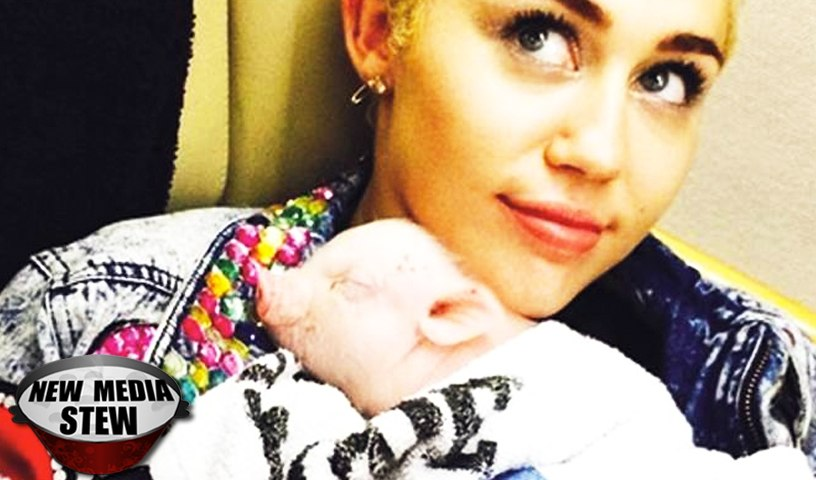 MILEY CYRUS: INSTAGRAM & TWITTER HATE for PAINTING PET PIG'S TOENAILS