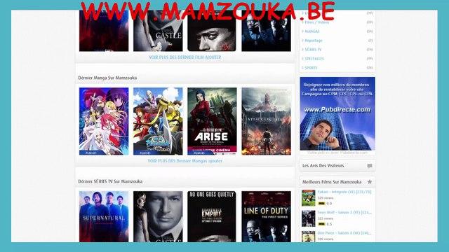 Mamzouka siteweb pour regarder des films #séries #mangas #gratuitement