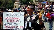 La Gente Se Manifiesta En Todo Mexico Enrique Pena Nieto Presidente De Mexico