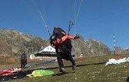 Parapente d'automne à Chamonix (Autumn paragliding in Chamonix)