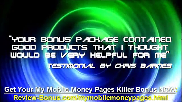 My Mobile Money Pages Bonus, My Mobile Money Pages Best Bonus, bonuses pack