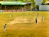 Rare Video....Imran Khan destroying India 1982-83 Pakistan Vs India Test Cricket Series