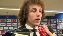 Francia - David Luiz, satisfecho con la victoria del PSG