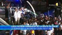 Loïck Peyron vainqueur de la Route du Rhum