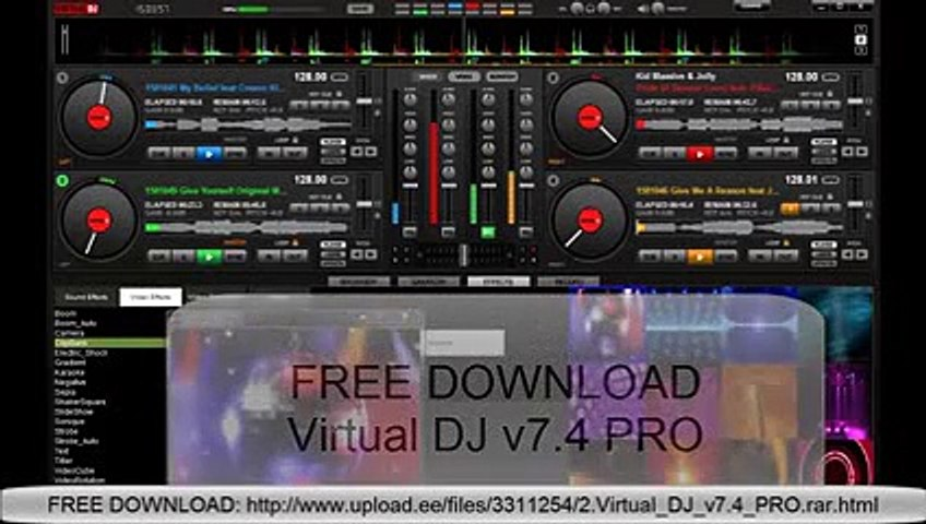 FREE DOWNLOAD Atomix Virtual DJ Pro v7 4 Incl Crack NEW RELLESE