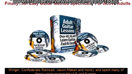 how to play electric guitar beginners lesson 1 adult guitar lessons fast and easy video lessons. Black Bedroom Furniture Sets. Home Design Ideas