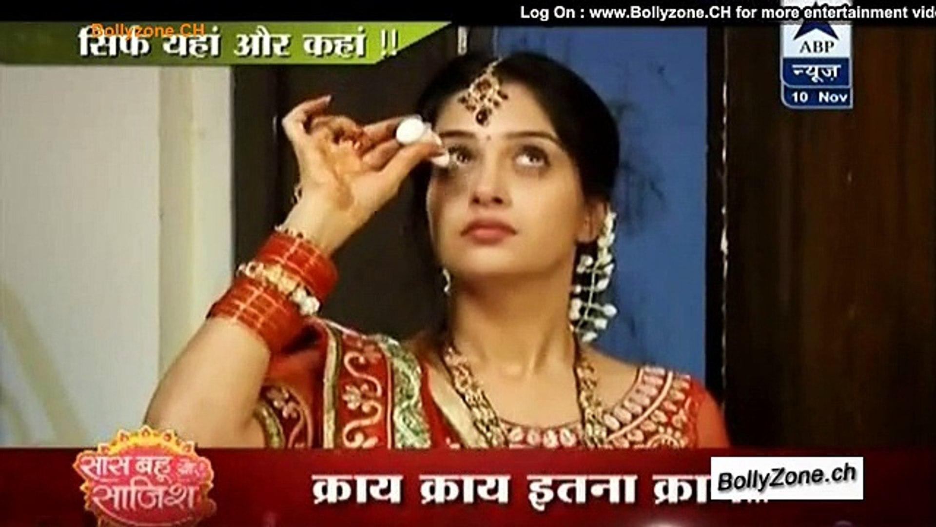 Vikrant Ne Simar Ko Kiya Blackmail!! - Sasural Simar Ka - 10th Nov 2014