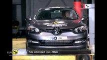 Renault Megane Hatch Çarpışma Testi 2014