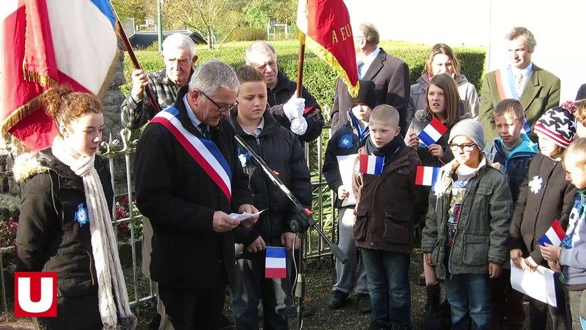 A Hannogne-Saint-Rémy, les scolaires répètent pour le 11-Novembre