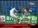 Ahmad Shahzad Badly injured on 176 runs