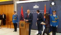 Le Kosovo assombrit une visite historique du Premier ministre albanais à Belgrade