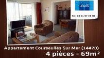 A vendre - appartement - Courseulles Sur Mer (14470) - 4 pièces - 69m²