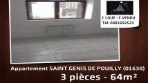 A vendre - appartement - SAINT GENIS DE POUILLY (01630) - 3 pièces - 64m²