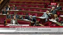 Début de l'examen du projet de loi de financement de la sécurité sociale pour 2015 - En séance
