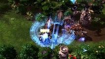 Heroes Of The Storm - Personnages, champs de batailles, et béta fermée