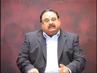 Altaf Hussain appeal Pakistan for Thar drought victims