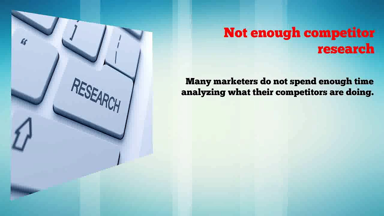 Search Engine Marketing Mistakes You Should Avoid