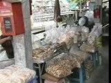Poissons au marché de Bangkok