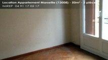 A louer - appartement - Marseille (13008) - 3 pièces - 50m²