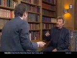 Interview Johnny Hallyday bourré