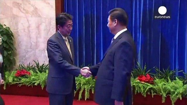 China and Japan hold ice-breaker talks