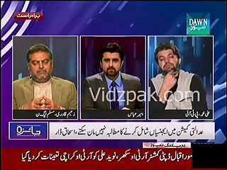 I know Imran Khan since childhood , he doesn't listen to others & does whatever he wants :- Zaeem Qadri