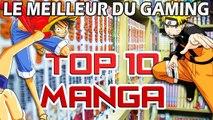TOP 10 MANGA les + vendus au mode : Naruto ou One Piece en tête ?