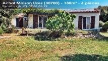 A vendre - Maison/villa - Uzes (30700) - 6 pièces - 131m²