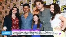 Kristen Stewart and Stephenie Meyer Reteam for Twilight Contest Seeking Female Filmmakers for New Shorts