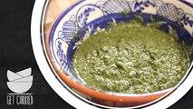 How To Make Pesto Sauce - Pesto Sauce Pasta And Toast - My Recipe Book By Tarika Singh