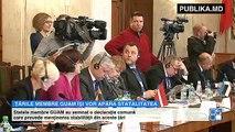 Declaraţie comună a parlamentarilor GUAM - Rusia nu o să reuşească să ne anexeze teritorii