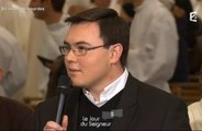 «Se serrer les couilles», le lapsus d'un jeune prêtre