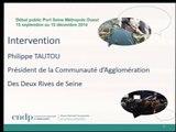 PSMO - 06/11/2014 - 4. Intervention de M. Philippe TAUTOU, Président de la CA2RS