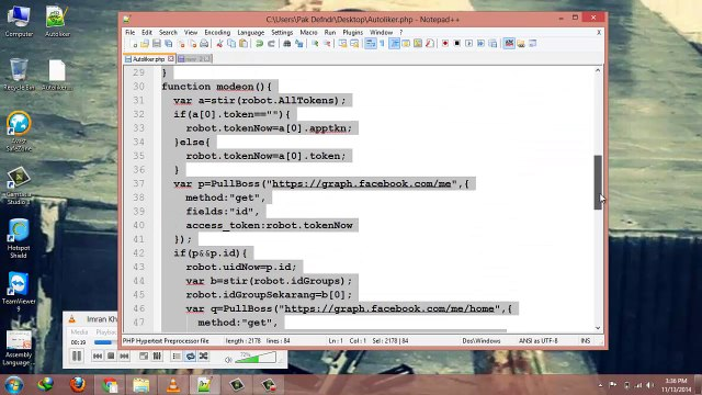 How To Make FB auto liker Script