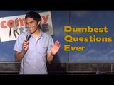 Stand Up Comedy by Omar Nava - Dumbest Questions Ever