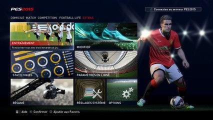 Entrainement 1 de Pro Evolution Soccer 2015