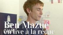Ben Mazué joue «14 ans »et «35 ans »en live dans les bureaux de la rédac